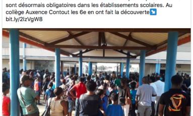 Colbert le père du Code Noir fait un clin d'oeil de borgne aux français de Guyane