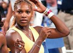 Ludivine Rétory se fait passer pour Serena Williams...au pays de Colbert le père du Code Noir...ils n'y ont vu que du feu