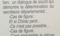 En décembre 1994 personne n'aurait parier 1 franc sur Jacques Chirac...sauf lui