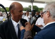 Rodolphe Désiré...l'une des derniers dinosaures  du parti d'Aimé Césaire placé  en garde à vue en Martinique