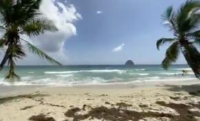 La plage du Diamant en Martinique by Jakool
