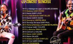 Lycinaïs Jean et E.SY Kennenga en tournée Silence Concert à l'île de La Réunion