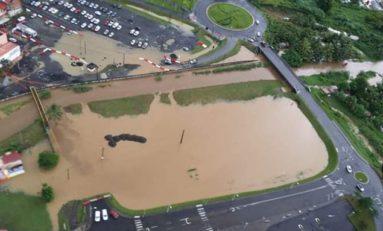 L'image du jour 31/10/19 - Martinique -Lamentin - Inondations
