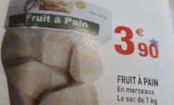 ILS vendent du fruit à pain importé du Pérou en Guadeloupe