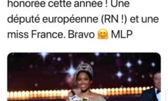 Marine Le Pen adore Miss France 2020