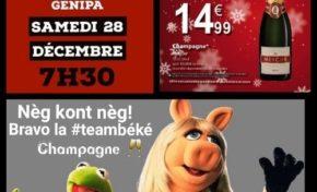 Martinique : Un champagne à 15,00 euros nommé désir !