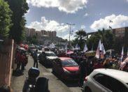 Manifestation du 5 décembre. Fort-de-France. Vidéo+photos