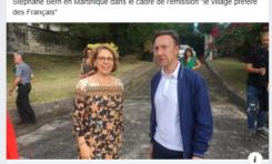 Martinique : quand Élisabeth Landi berne Stéphane Bern