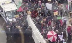 Echauffourées devant le palais de justice à Fort-de-France en Martinique (live - vidéos)