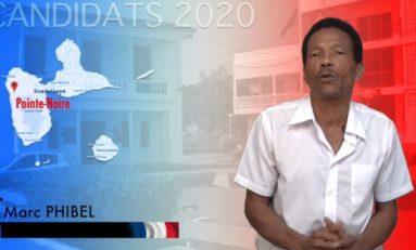 Municipales 2020 en Guadeloupe : VOTEZ Marc Phibel