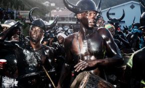 Black Blood / Jouvert. (Photos)