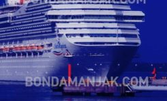Costa Magica en Martinique : les passagers ont débarqué...