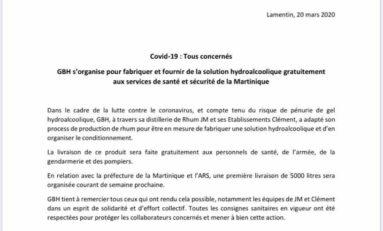 Coronavirus/Martinique : le Groupe Bernard Hayot (GBH) est-il né avant la HONTE ?