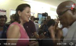 Quand Agnès Buzyn souriait devant les revendications du CHU de Guadeloupe... Mais ça c'était avant le COVID-19. (vidéo)