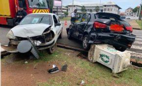 Guyane : accident de la route en plein Cayenne en plein confinement