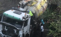Martinique : accident de Sainte-Luce...la suite...