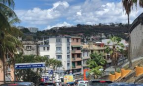 Confinement à Fort-de-France en Martinique le 28 avril 2020 à 10:53