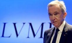 LVMH fait monter son cours de bourse, grâce à l'argent de l'argent public. Profiteur de guerre.