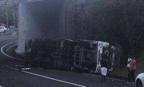 Martinique : accident à Sainte-Luce en plein confinement.