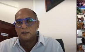 La phrase du jour est de Fred Lordinot, conseiller d'opposition à l'Assemblée de Martinique