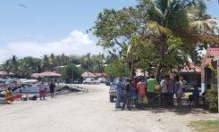 Covid-19 - Distanciation sociale en Martinique - Vauclin