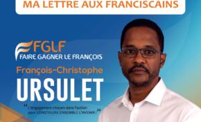 Municipales 2020 en Martinique : la lettre de François-Christophe Ursulet aux franciscains