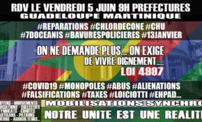 Ce 5 juin 2020 sera de bonne facture en Martinique et Guadeloupe et rimera avec Préfecture