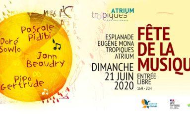 Fête de la musique en Martinique. Concert en plein air et live internet.