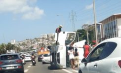 Images du jour 17/06/2020 - Accident - Martinique