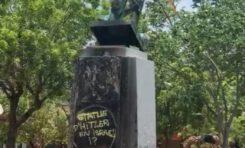 26 juillet 2020...11h58 la statue de Pierre Belain D'esnambuc est déboulonnée en Martinique
