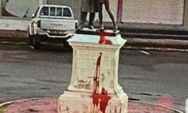 La statue de Victor Schoelcher vandalisée à Cayenne en Guyane