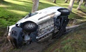 Spectaculaire accident au François en Martinique