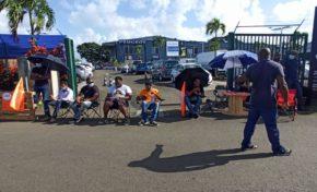 Grève en Martinique : Peugeot Automobiles est immobile