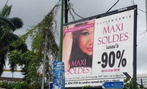 Maxi Soldes en Martinique ... - 90 % ...on tombe des nues !!!