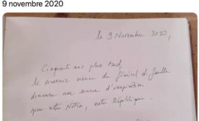 Emmanuel Macron a fait un carreau...Antoine Crozat doit être furieux.