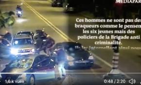 Des policiers en civil tirent à bout portant sur des jeunes. Vidéo.