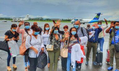 Que va donc faire la CTM de la presque tonne de bagages laissée par les médecins cubains ?