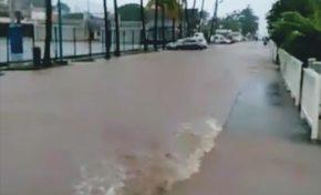 Intempéries en Martinique : inondations à Sainte-Anne