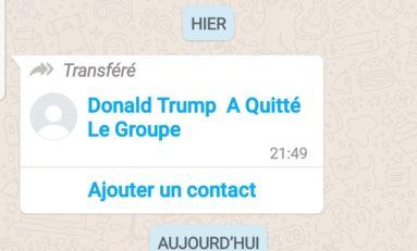 L'image du jour 08/11/20 - WhatsApp - Trump