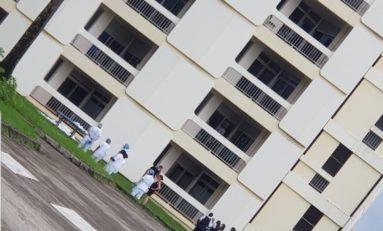 Une quinquagénaire atteinte par la covid-19 se jette dans le vide à l'Hôpital Pierre Zobda-Quitman en Martinique