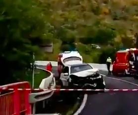 Grave accident de la route à Bellefontaine en Martinique