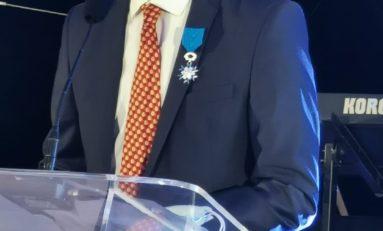 L'image du jour 10/12/20 - Olivier Laouchez - Chevalier de l'Ordre national du mérite