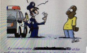 En France la POLICE n'est pas RACISTE. La preuve.