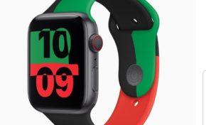 Rouge Vert Noir...Apple 🕑 la voie
