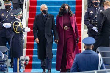 L'image du jour 20/01/21 - Michelle et Barak Obama