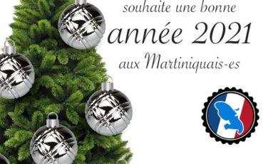 Stanislas Cazelles l'homme de l'année en Martinique souhaite une bonne année 2021 aux martiniquais-es