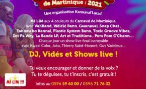 Carnaval de Fort-de-France à Dillon en 2021…