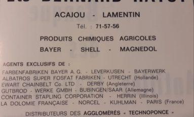 Chlordécone en Martinique et en Guadeloupe : Serge Letchimy MENT !!!