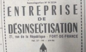 Pesticides en Martinique: en...1965 on faisait de la publicité pour le Gramoxone dans France-Antilles