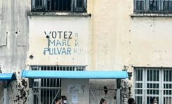 L'image du jour 16/04/21 - Fort-de-France -VOTEZ Marc Pulvar - Martinique